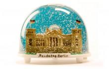 Objektbau für DIE ZEIT. Der Reichstag im Schneeschüttler von Kascha Beyer.
